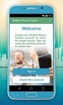 Mobile Phone Tracker poster