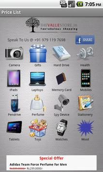 Mobile Price List poster