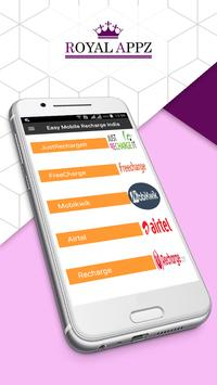 Easy Mobile Recharge India poster