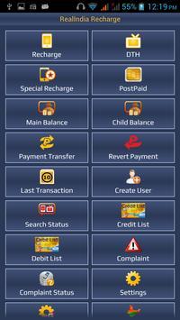 RealIndia Recharge screenshot 1