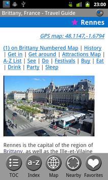 Brittany (Bretagne) FREE Guide screenshot 3
