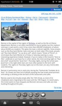 Brittany (Bretagne) FREE Guide screenshot 10