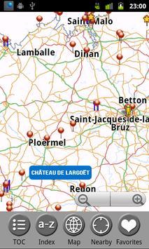 Brittany (Bretagne) FREE Guide screenshot 1