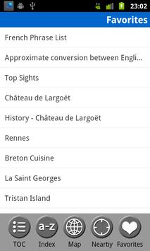 Brittany (Bretagne) FREE Guide screenshot 7
