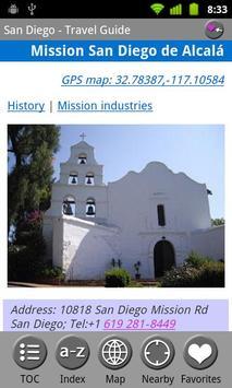 San Diego - FREE Travel Guide screenshot 1