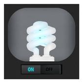 Fluorescent Flashlight (LED) icon