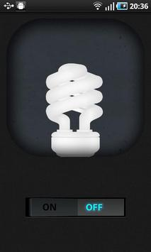 Fluorescent Flashlight (LED) poster