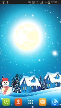 CHRISTMAS WINTER LIVEWALLPAPER poster