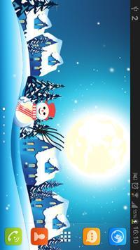 CHRISTMAS WINTER LIVEWALLPAPER apk screenshot