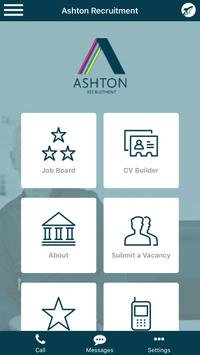 Ashton Recruitment poster