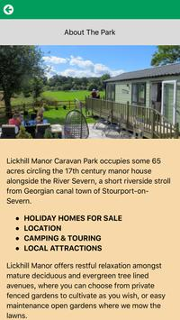 Lickhill Manor Caravan Park apk screenshot