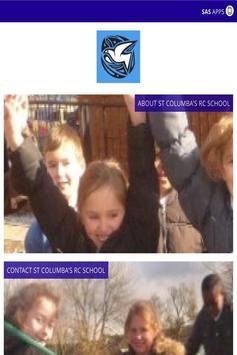 St Columbas RC School poster