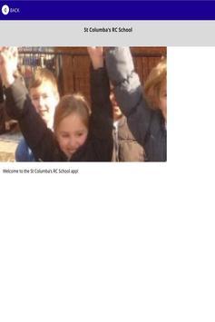 St Columbas RC School apk screenshot