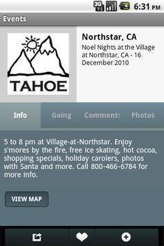 Lake Tahoe Official screenshot 2