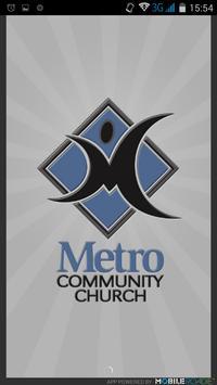 Metro Community Church poster