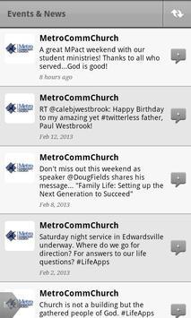 Metro Community Church apk screenshot