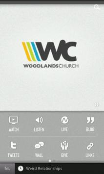 Woodlands Church poster