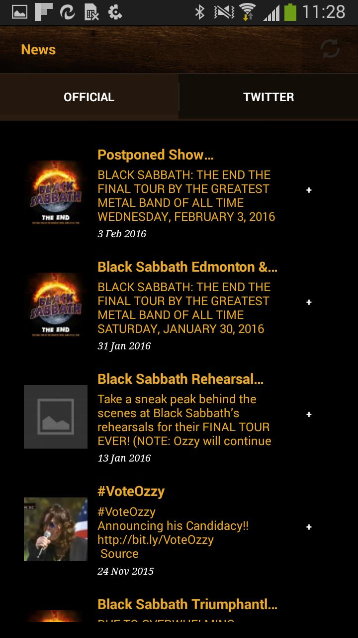 The Official Ozzy Osbourne App for Android - APK Download