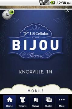 Bijou Theatre poster