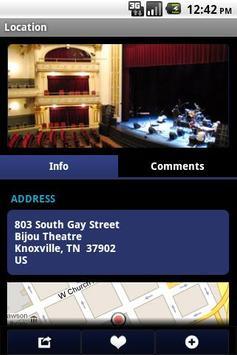 Bijou Theatre apk screenshot