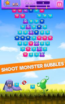 Monster Bubble Shooter poster