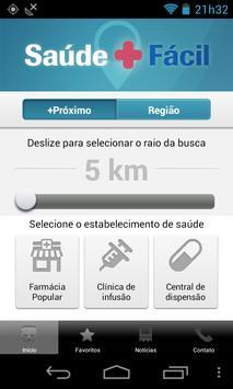 Saúde Mais Fácil apk screenshot