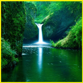 Waterfall Wallpapers Free icon