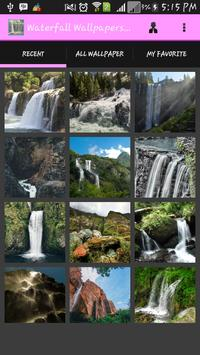 Waterfall Wallpapers Free poster