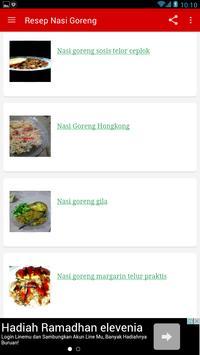 Resep Nasi Goreng Praktis screenshot 1