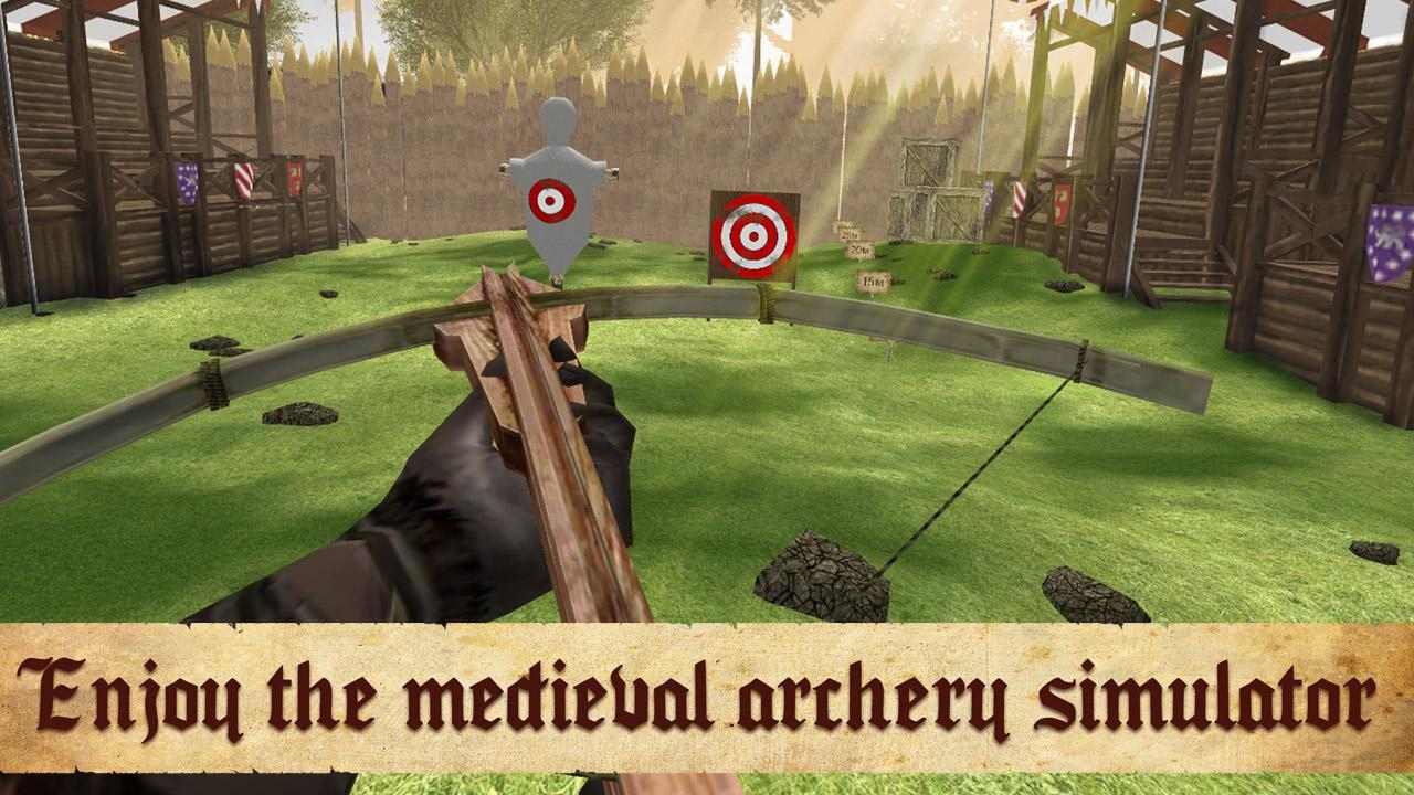 Medieval Archery Big Bow Shooting Contest For Android Apk - archery simulator roblox