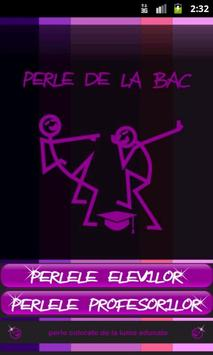 Perle BAC 2012 poster