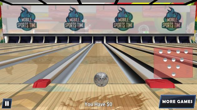 Bowling 3D - Real Match King poster