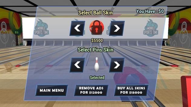 Bowling 3D - Real Match King apk screenshot