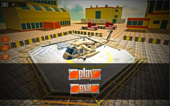 Gunship Helicopter Strike 3D screenshot 3