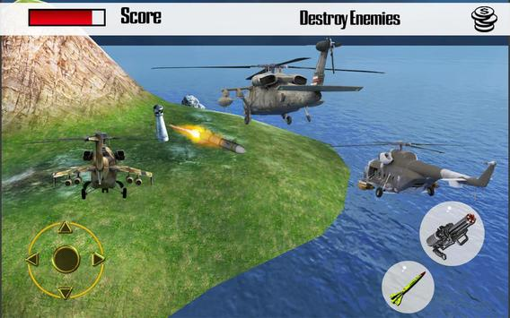 Gunship Helicopter Strike 3D screenshot 14