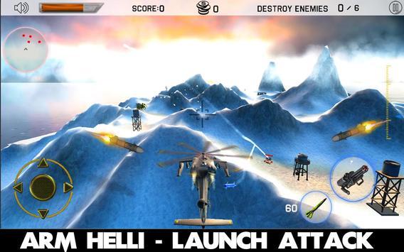 Gunship Helicopter Strike 3D screenshot 1