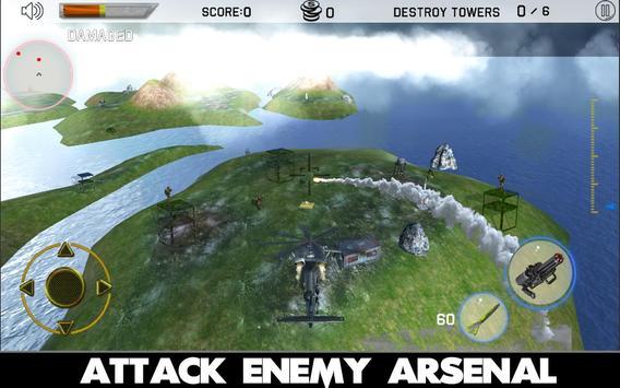 Gunship Helicopter Strike 3D screenshot 2