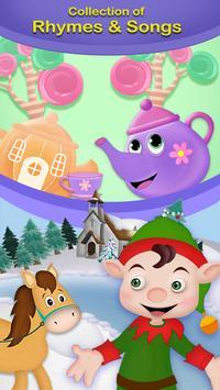 Nursery Rhymes And Preschool Learning Poster