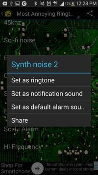 Annoying Sounds Ringtones apk screenshot
