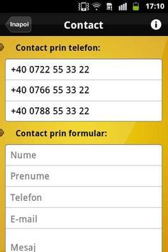 Taxi Bucharest apk screenshot