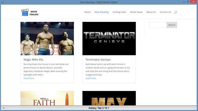 Mobile Movie Trailers apk screenshot