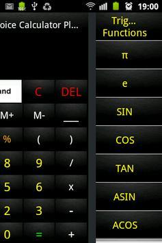 Advanced Voice Calculator Free screenshot 2