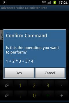Advanced Voice Calculator Free screenshot 7