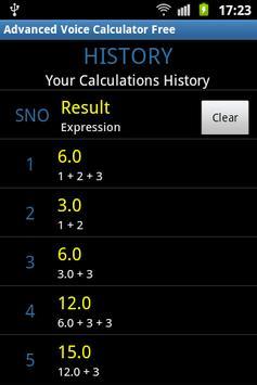 Advanced Voice Calculator Free screenshot 5