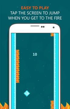 Don't Touch The Fire! Pro Game apk screenshot