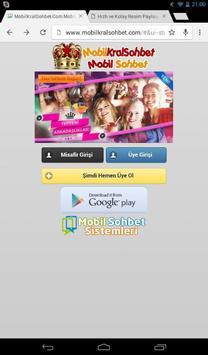 MobilKralSohbet Mobil Sohbet screenshot 1