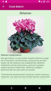 Çiçek Bakımı poster