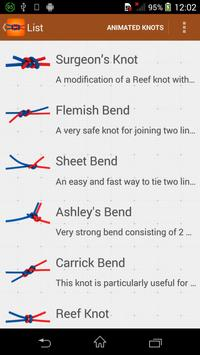 How to Tie Knots - 3D Animated apk screenshot