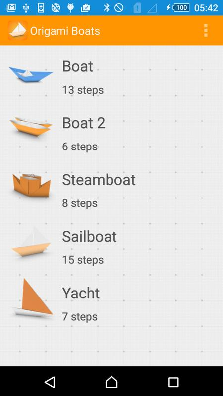 oirgami boats instructions 3d apk download free education app for