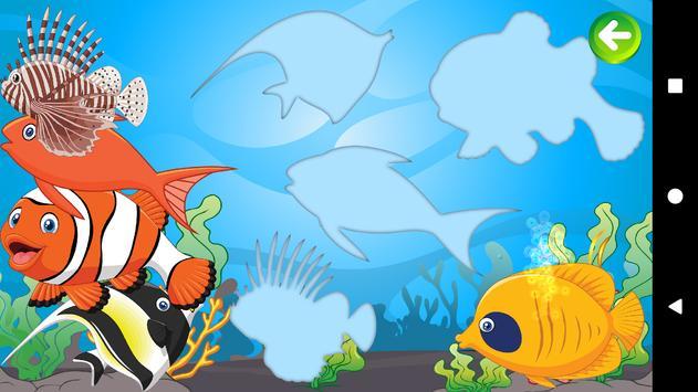 Baby Puzzles - Sea Creatures screenshot 1
